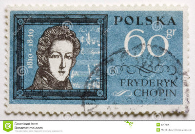 Chopin-stamp